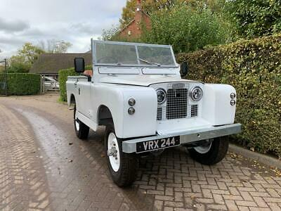 1960 Land Rover Series 2 Full Nut and Bolt Restoration For Sale