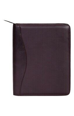 Scully Western Planner Soft Plonge Leather Zipper Closure 5012Z-11