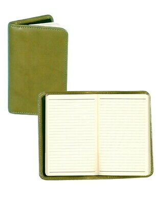 Scully Western Planner Italian Leather Personal Noter Aloe 1006R-06