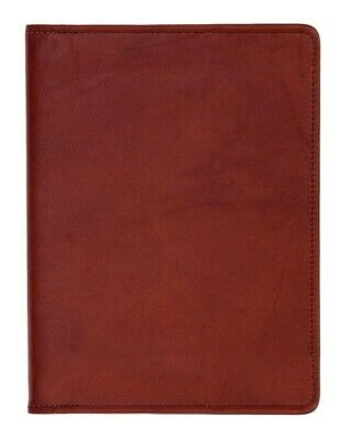 Scully Western Planner Soft Plonge Leather Blank Desk Journal 1046B-11