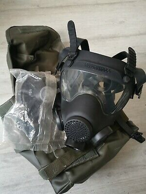 Unused POLISH / FRENCH ARMY / MP5 / ARF-A GAS MASK  SIZE 2 including bag /filter