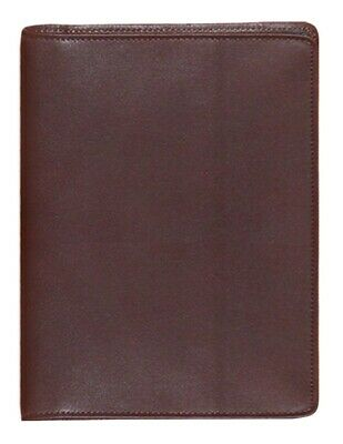 Scully Western Address Book Soft Plonge Leather Chocolate 1145-11