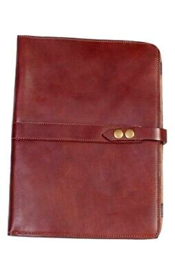 Scully Western Planner Italian Leather Snap Closure Mahogany 155-06