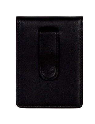 Scully Western Wallet Mens Soft Plonge Leather Clip Black 3003-11