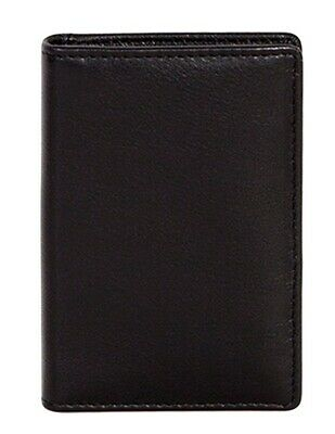 Scully Western Wallet Mens Soft Plonge Leather Pocket Black 3002-11