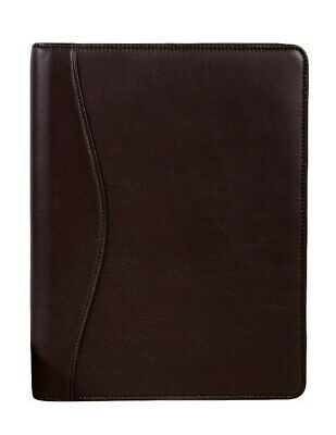 Scully Western Planner Writing Inside Pockets Chocolate 5012-11