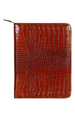 Scully Western Planner Exotic Print Leather Writing Pad 5012Z-0