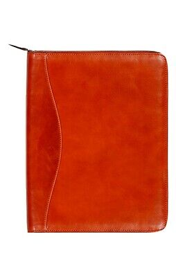 Scully Western Planner Italian Leather Zip Closure Pen Loop 5012Z-06