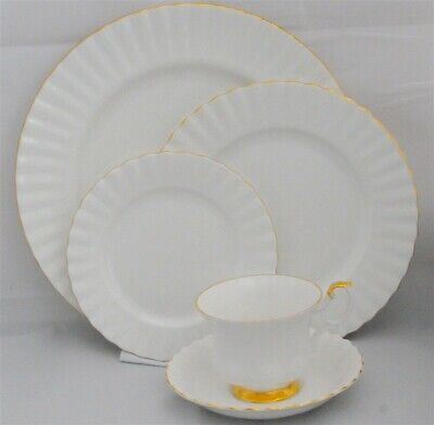 1-Royal Albert Val D'or 5 Piece Place Setting ( 12 available)