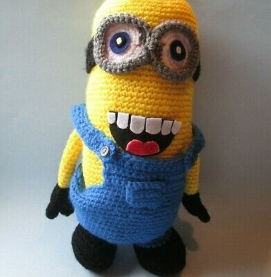 Minion 2 Eyes, Handmade Crochet Amigurumi, Stuffed Toy, Gift ... | 400x391