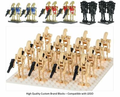 Droid Army LEGO Star Wars Mini Figures Droid Clones Qty 4 - 100 Battle Droid UK