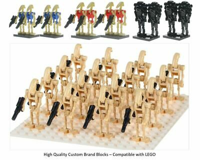 Star Wars Battle Droid Army LEGO Mini Figures Droid Clones Qty 4 - 100