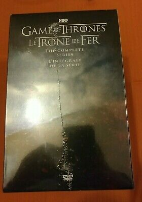 Game of Thrones The Complete Series DVD Box Set BRAND NEW SEALED CDN SELLER
