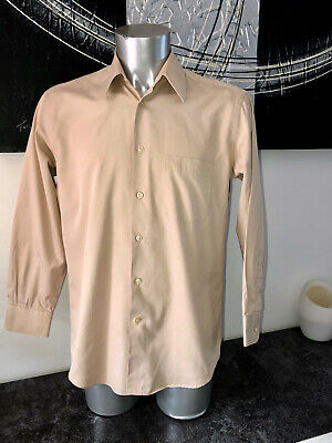 Luxurious Shirt Camel Kenzo Man Size 40-15 1/2 (M) Mint