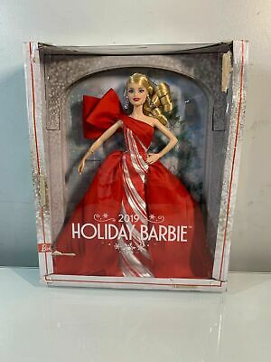 New In Box 2019 Collector's Edition Holiday Barbie Authentic Mattel Doll