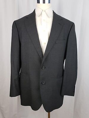 BROOKS BROTHERS Makers Brooksease Mens Size 43R Gray Glen Plaid Sportcoat Blazer