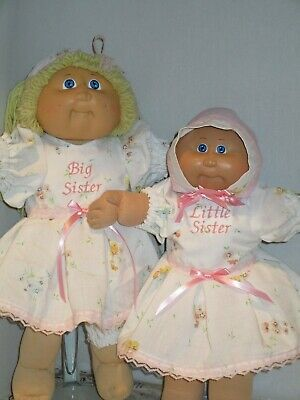 """Adorable Big Little Sisters Headband for 14 """" & 16"""" Cabbage Patch Dresses Pink"""