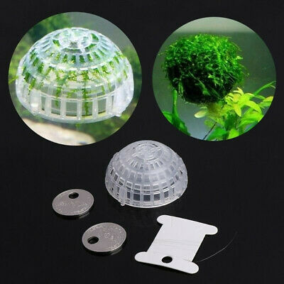 Aquarium Suspension Floating Moss Filter Ball Fish Tank Live Plant Holder G9C