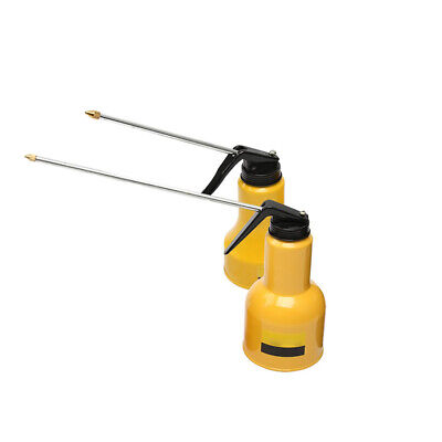 Durable Oil Can Die Cast With Rigid Spout Thumb Pump Workshop-Tool-Oiler L 450m