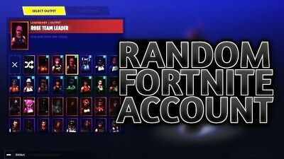 ✅Random stacked Fortnite Accounts GURANTEED Works On PC Or Xbox (EMAIL DELIVERY)