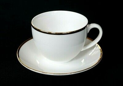 Beautiful Maxwell Williams White Gold Cup And Saucer