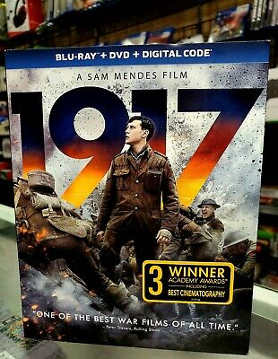 1917 BluRay + Dvd + Digital NEW AUTHENTIC FAST SHIPPING