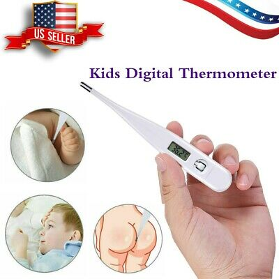 US Medical LCD Digital Thermometer Body Temperature Indicator Baby & Adult Use