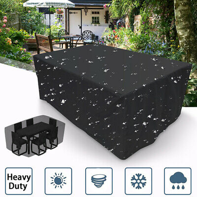Waterproof Outdoor Garden Patio Furniture Cover Rattan Table Sofa Protector New