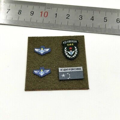 FLAGSET FS 73023 1/6 Scale Chinese Army Airborne Forces PLAAF Patches Model