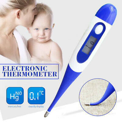 Digital LCD Thermometer Medical Baby/Adult Body Safe Oral Electronic Thermometer