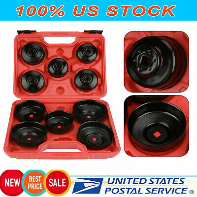 11 pcs Oil Filter Wrench Oil Filter Socket Set Remover Installer Hand Tool Kit
