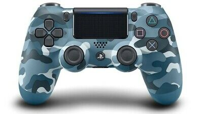 Sony Playstation 4 Wireless Dualshock 4 V2 Controller PS4 , Camouflage blue