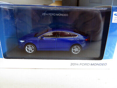 Ford Mondeo Limousine Silber Fusion MK5 Ab 2012 1//43 Greenlight Modell Auto mit