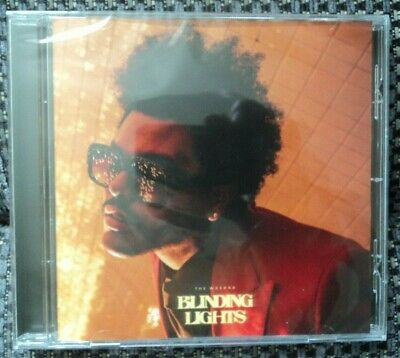 RARE CD The Weeknd Blinding Lights Collector's Edition Republic Records 2020