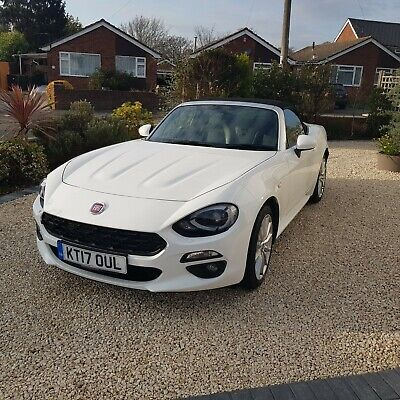 Fiat 124 Spider 2017 exchange your classic