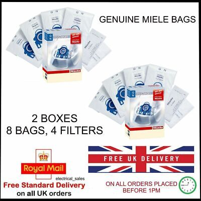 MIELE GN COMPLETE C3 CAT & DOG POWERLINE 11085190 DUST BAGS x 8 9917730 GENUINE