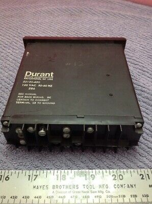 Eaton Corporation Durant Solid State 120 Digital Totalizer 55120-450