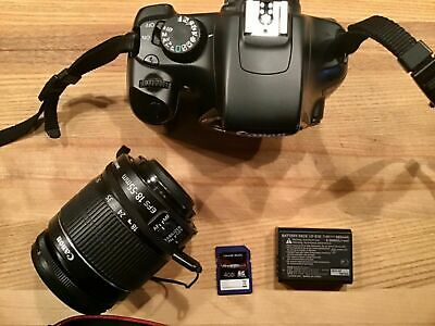Canon EOS Rebel T3 12.2MP Digital SLR Camera - w/ EF-S 18-55 & 75-300mm & more