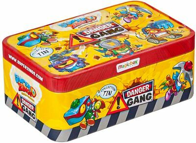 SUPERZINGS Danger Gang Collection tin (Incl 5 exclusive metal effect Superzings)