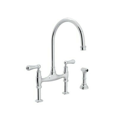 Rohl U.4719L-APC-2 KITCHEN FAUCETS, Polished Chrome