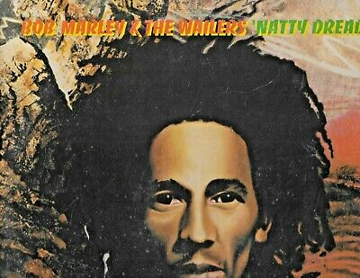 "BOB MARLEY & THE WAILERS on   LP "" NATTY DREAD "" rock reggae  ( ILPS 9281 )"