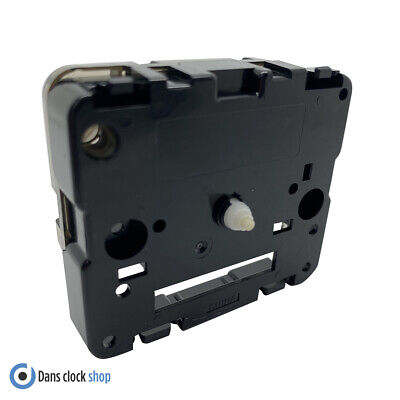 New Replacement Seiko Carriage Clock Movement Bell Alarm 6.2mm Plastic Shaft