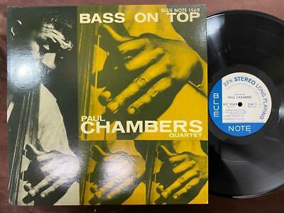 Paul Chambers Bass On Top Blue Note Gxf 3016 Stereo Japan Vinyl Lp