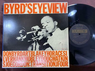 Donald Byrd Byrd's Eye View Transition Gxf 3123 Mono Japan Vinyl Lp