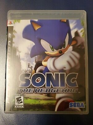 2007 Ps3 Playstation 3 Sonic The Hedgehog Video Game Rated E Used Video Game