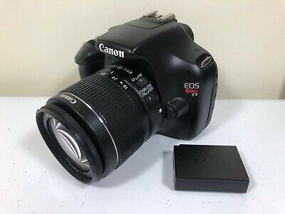 Canon EOS Rebel T3 12.2MP Digital SLR Camera With EF-S IS II 18-55mm Lens