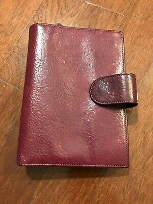 Gillio Firenze Ring Binder Planner Epoca Medium Mia Cara Fiocchi Popper Purple