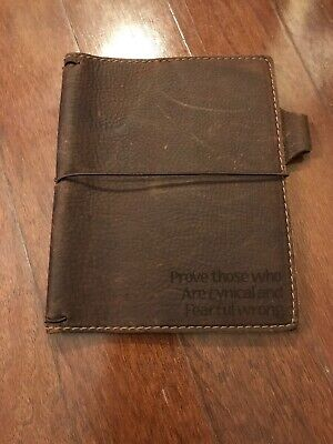 Chic Sparrow travelers notebook B6 TN Deluxe Waypoint Quiet Tan Travellers