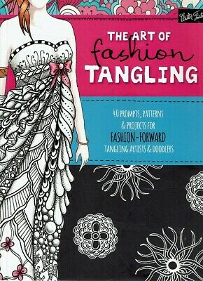 The Art Of Fashion Tangling by  - Book - Pictorial Soft Cover - Art