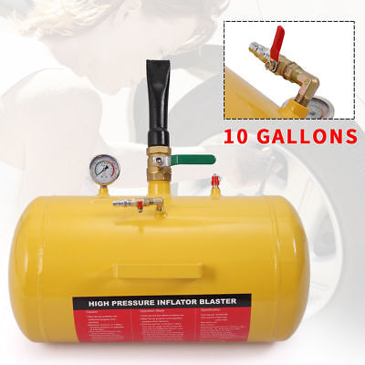 10 Gallon Air Tire Bead Seater Blaster Tool Seating Inflator Truck ATV 145PSI